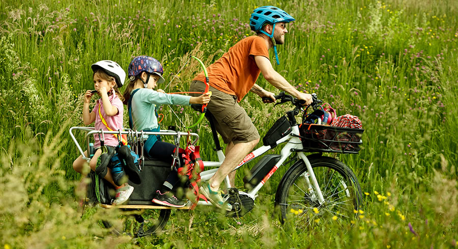 How to be a cool Cargo Bike Dad